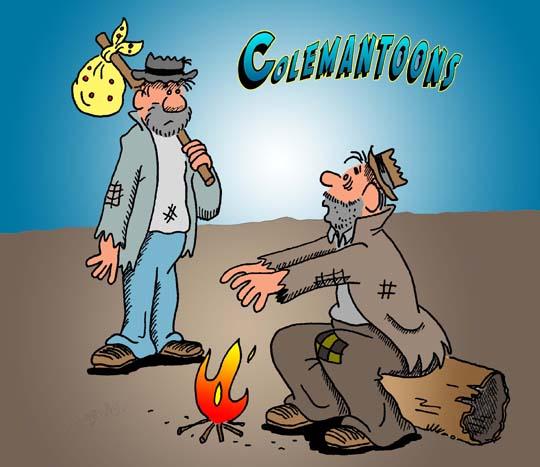 cartoon by colemantoons